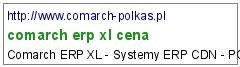 comarch erp xl cena